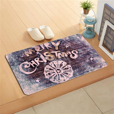 snow doormat u b36 custom snow merry doormat home decor door
