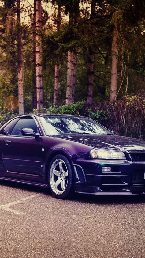 wallpaper nissan skyline gt