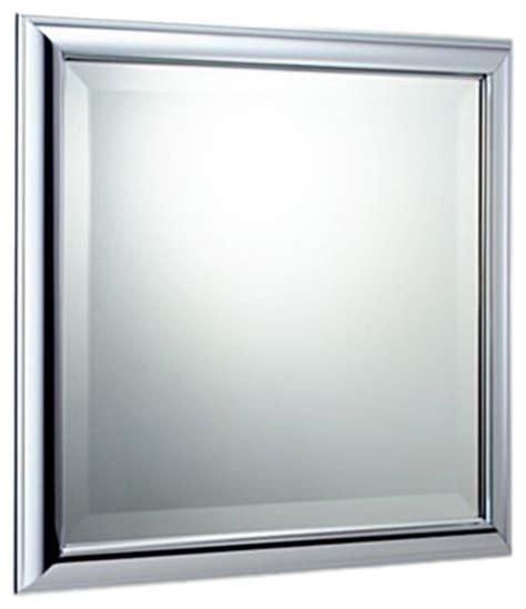 Modern Chrome Bathroom Mirrors by Brizo 69880 Pc Vesi Polished Chrome Wall Mirror Modern