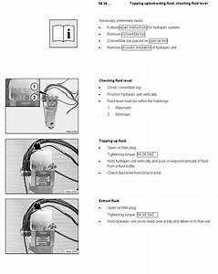 Convertible Top Hydraulic Fluid Bmw Z4