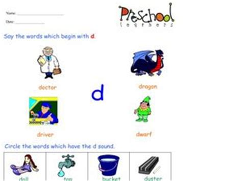 5 letter words starting with k words that begin with the letter d worksheet for pre k 20236 | nzi5mzizlmpwzw