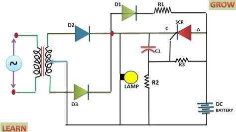 Emergency Light System Control Using Scr Learn Grow