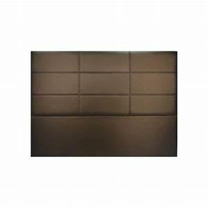 Tete De Lit 120 : t te de lit design salom bronze 160 x 120 achat vente tete de lit pas cher couleur et ~ Teatrodelosmanantiales.com Idées de Décoration