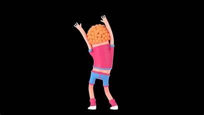 Dancing Cartoon Emoji Panda Colorbleed Bjorn Lowgif