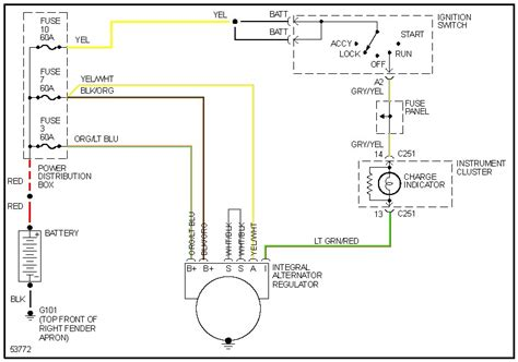 1990 Ford Ranger Wiring Schematic by My 1990 Ford Ranger Was Not Charging The Battery Upon