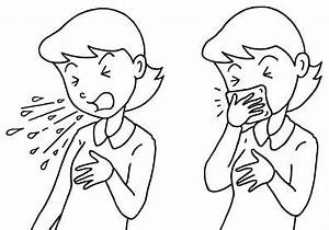 Influenza Prevention Measures Etiquette Manners Of Cough