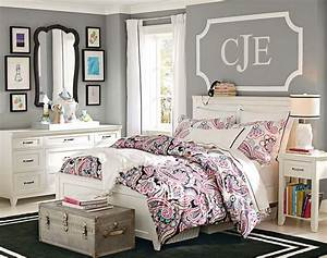 teenage girl bedroom ideas neutral colors pbteen for With images of teenage girls bedrooms
