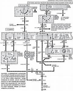 1993 Buick Park Avenue System Wiring Diagrams Headlamps  Lamp Monitor Wiring Diagram