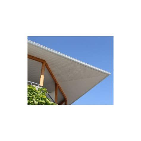 lambris pvc de sous toiture blanc planches de 25cmx4ml