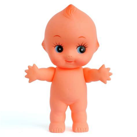 cute kewpie doll baby cupie vintage cameo figurine rubber
