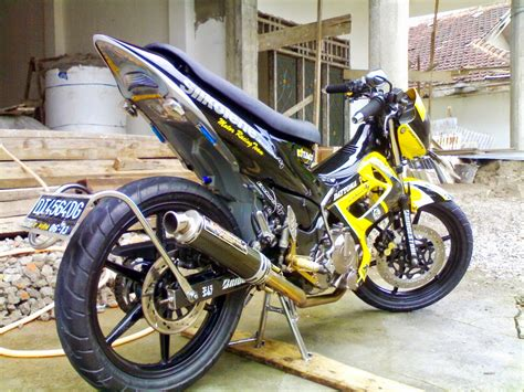 Harga Modifikasi Motor Trail by Suzuki Satria Fu 150 Modifikasi Trail Thecitycyclist