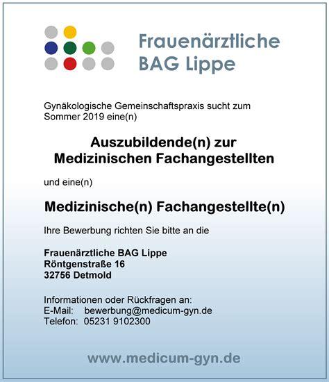 Zentrum Fuer Medizinische Innovation In by 15 R 252 Cktrittsschreiben F 252 R Medizinische Assistentin