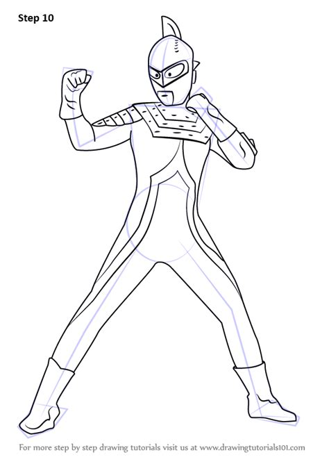 step  step   draw  ultraman