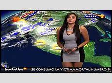 The 12 Sexiest Latin American Weather Girls — My Latin Life