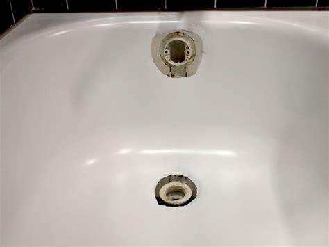 repair bathtub overflow drain gasket  homy design