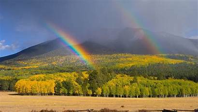 Rainbow Wallpapers Backgrounds Mountain