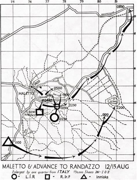 brigade attack maletto and advance to randazzo