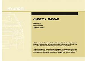 2012 Hyundai Accent Owners Manual