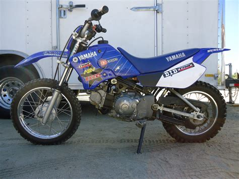 junior motocross bikes for sale yamaha ttr90 motorcycle 90cc 3 speed automatic great