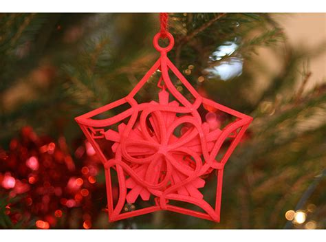 merry bright  printed ornaments shapeways magazine