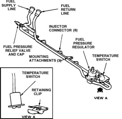 1988 Ford Bronco Fuel Line Diagram by 1988 F250 Diagram For The Fuel Line System 6cyl Tanks
