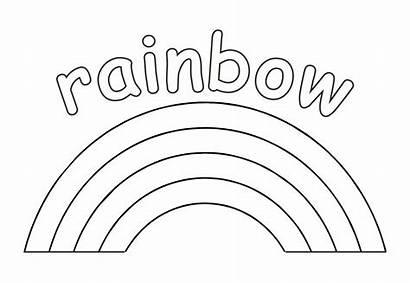 Rainbow Coloring Dot Printable Printablee