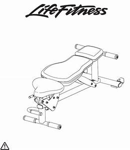 Life Fitness Home Gym Lfadj User Guide