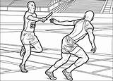 Track Field Coloring Pages Sports Printable Books sketch template