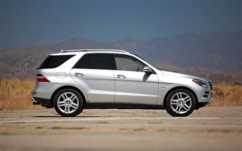 Exterior cosmetic changes are subtle for 2012, though mercedes says every panel is new. 2012 Mercedes-Benz ML350 Bluetec 4Matic - Editors' Notebook - Automobile Magazine