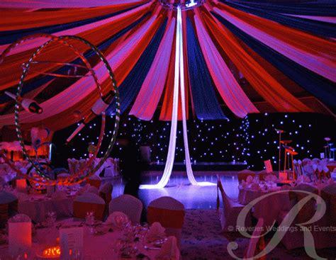 circus themed event decor  flowserve corporation big