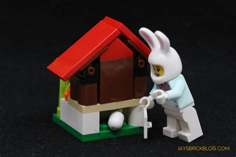 review lego  easter bunny house jays brick blog