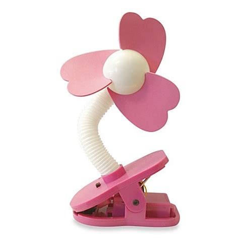 clip on fan for bed buy dreambaby clip on stroller fan in white pink from bed