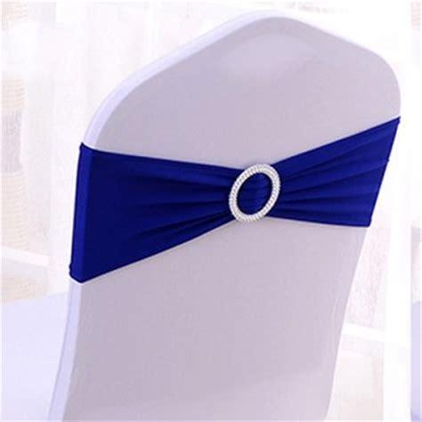 noeud pour chaise de mariage noeud de chaise mariage en lycra bleu roi un jour spécial
