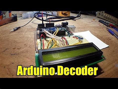 Arduino Morse Code Decoder With Audio Biasing Circuit