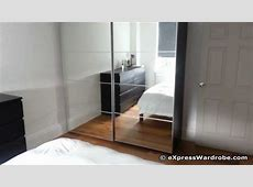 IKEA Pax Auli Sliding Mirror Door Wardrobe Design YouTube