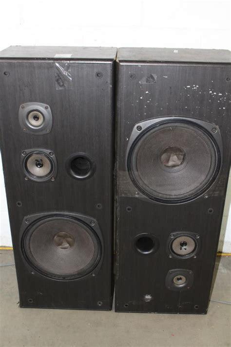 Kenwood Boat Tower Speakers by Kenwood Jl 884 Tower Speakers Property Room