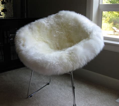 best of sheepskin chair covers inspirational
