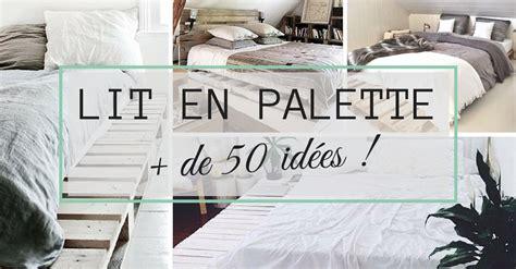 transformer sa cuisine lit en palette 50 idées pour fabriquer un lit en palette