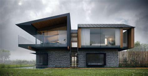 Simple Design Tremendous Modern Glass Home Floor Plans