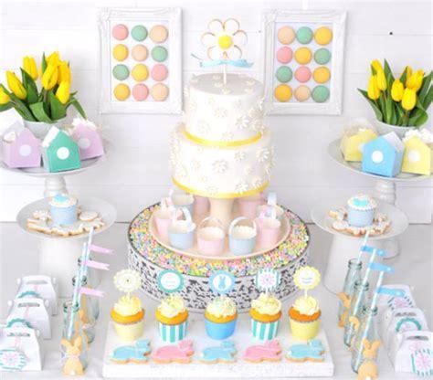 decor de table pour paques kara s ideas pastel easter bunny boy planning ideas