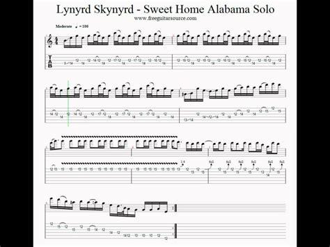 Sweet Home Alabama Guitar Lesson Francais Sur