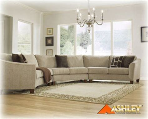 curved sofa ashley furniture curved sectional sofa bing images for the home