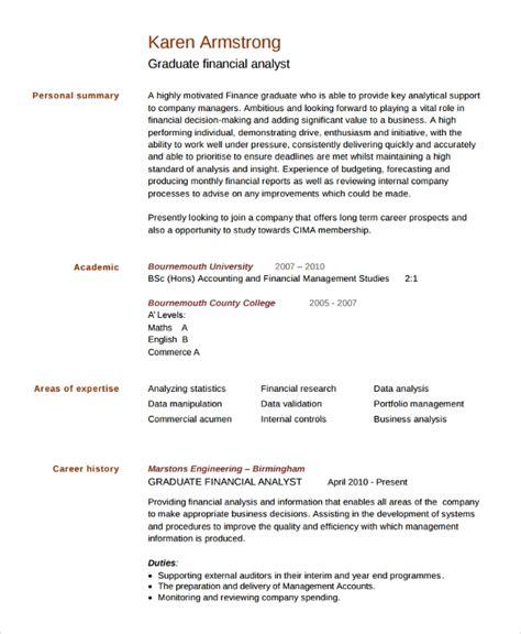 College Grad Resume Sle by Sle College Graduate Resume 8 Free Documents