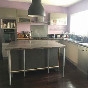 Meuble Avec Plan De Travail : meuble plan de travail cuisine ikea lertloy com ~ Dailycaller-alerts.com Idées de Décoration