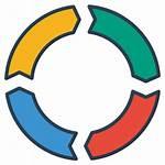 Pdca Cycle Icon Eximioussoft Designer Management Planning