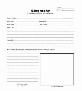 25 biography templates doc pdf excel free premium for Historical biography template