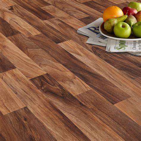 Tile Ideas For Kitchen Floor - arezzo walnut effect matt vinyl flooring 4 m departments diy at b q