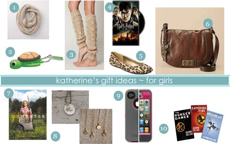 Gift Ideas {katherine's List For Girls} And A Giveaway