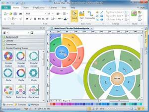 Circular Diagram Software