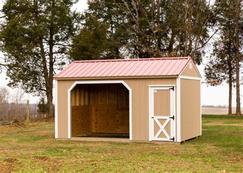 Small Horse Barn Or Run In Shed